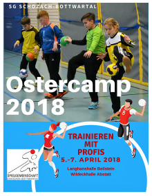 Ostercamp 2018: Unsere Trainerinnen & Trainer beim Ostercamp 2018